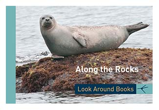 Along the Rocks. Tony King's Look Around Books.  3.75 x 2.5 inches.  48 pages.  $3.50 retail.