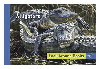 Alligators. Tony King's Look Around Books.  3.75 x 2.5 inches.  48 pages.  $3.50 retail.