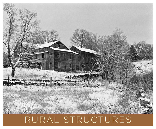 Rural Structures.  A Going Home Book by Tony King.  7 x 5 inch soft cover that contains 48 pages of black and white photographs by Tony King.  Retail $7.50 each.