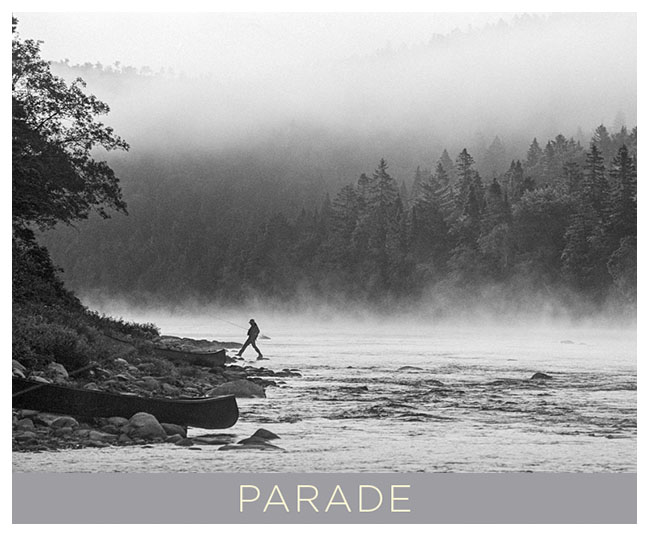 Parade.  A Going Home Book by Tony King.  7 x 5 inch soft cover that contains 48 pages of black and white photographs by Tony King.  Retail $7.50 each.