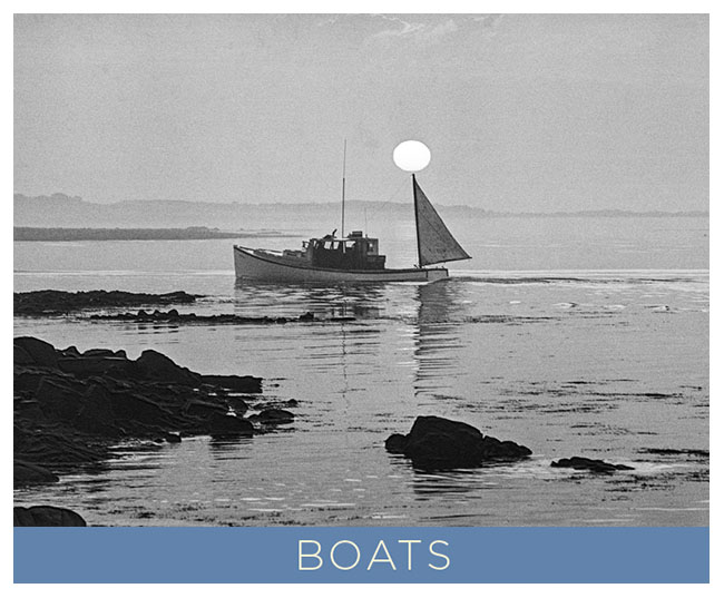 Boats.  A Going Home Book by Tony King.  7 x 5 inch soft cover that contains 48 pages of black and white photographs by Tony King.  Retail $7.50 each.